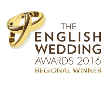 English Weddings Award 2016 Regional Winner