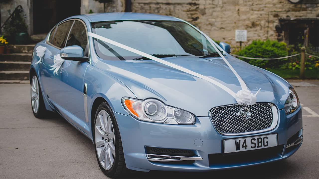 Wedding Cars Gloucestershire Jaguar XF Slider Image