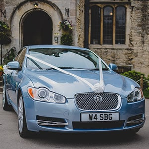 Wedding Cars Gloucestershire Jaguar XF